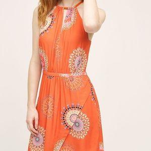 Anthropologie Livia Halter Dress
